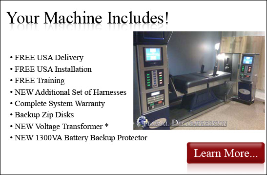 Your Axiom DRX 9000 Machine Includes!
