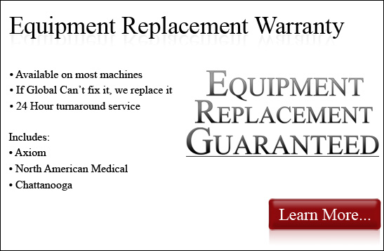 Axiom DRX9000 Replacement Guarantee